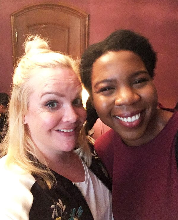 Steffi von Hey Pretty und Anna von The Zurich Diaries am Pixi Launch Event in Zürich