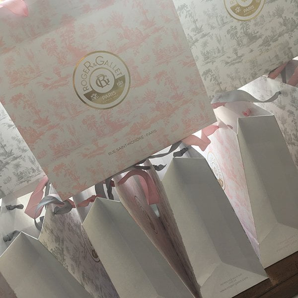 Roger & Gallet Extraits de Cologne Launch Event in Zürich: Goodie Bags (Image by Hey Pretty Beauty Blog)