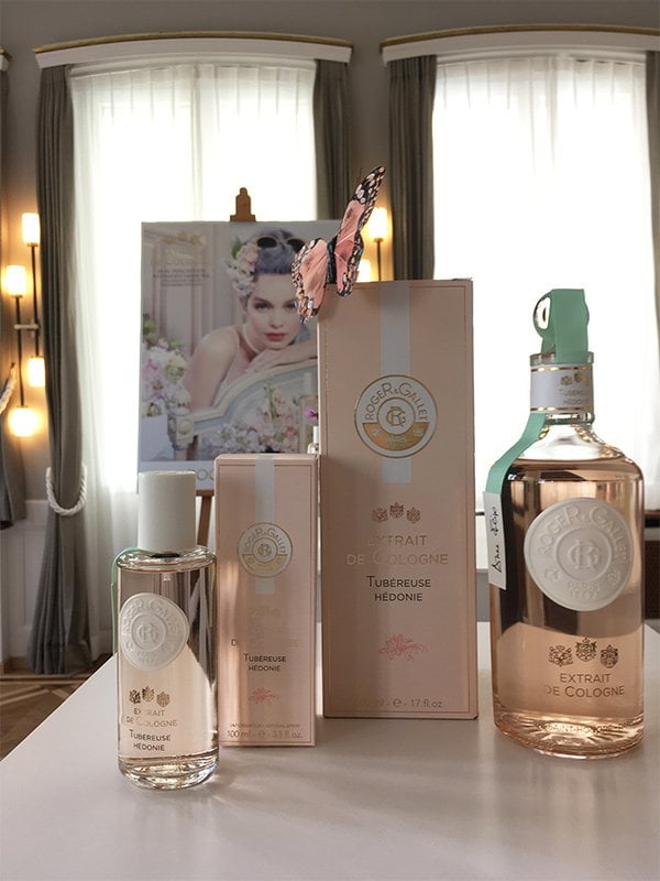 Roger & Gallet Extraits de Cologne Launch Event in Zürich: Tuberose Hedonie (Image by Hey Pretty Beauty Blog)