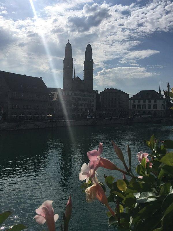 Roger & Gallet PR Event at Hotel Storchen Zürich (Image by Hey Pretty): Was für eine Aussicht!