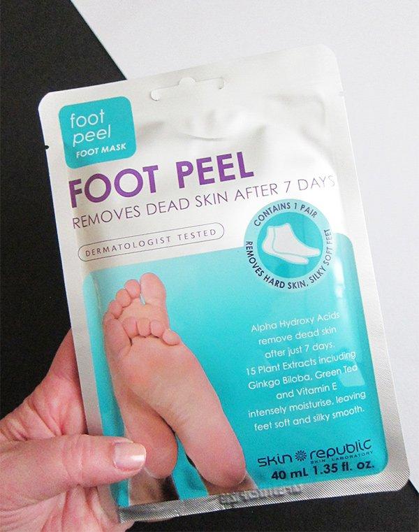 Skin Republic Foot Peel (Hey Pretty Review)