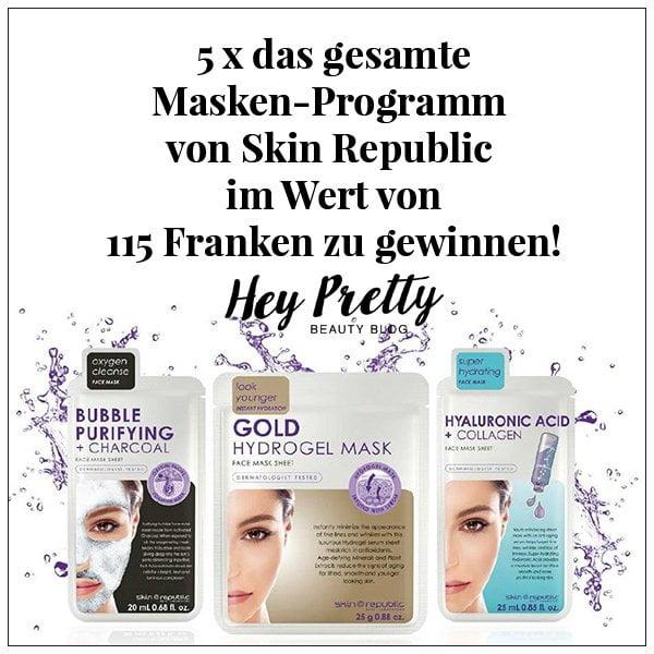 Skin Republic Masken: Givaway auf Hey Pretty Beauty Blog