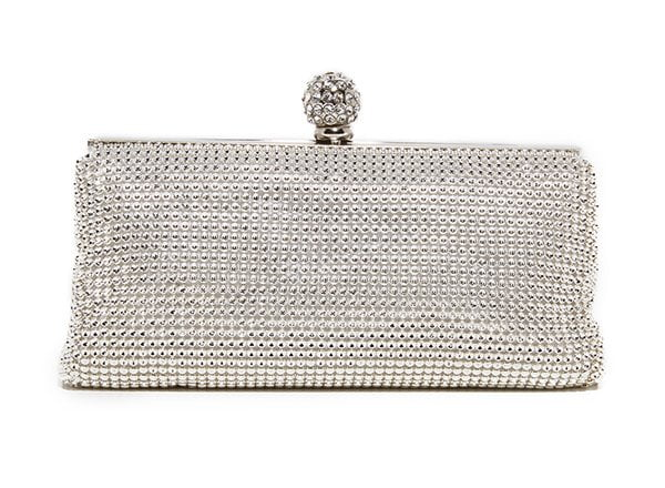 Whiting & Davis Crystal Ball Clutch (at Shopbop)