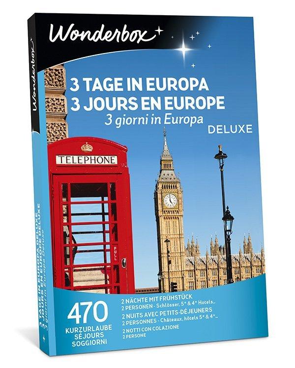 Wonderbox: 3 Tage Europa (Verlosung auf Hey Pretty Beauty Blog)