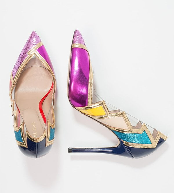 Aldo Mirasa Multicolored Pump (Hey Pretty Party Shoe Edit 2017)