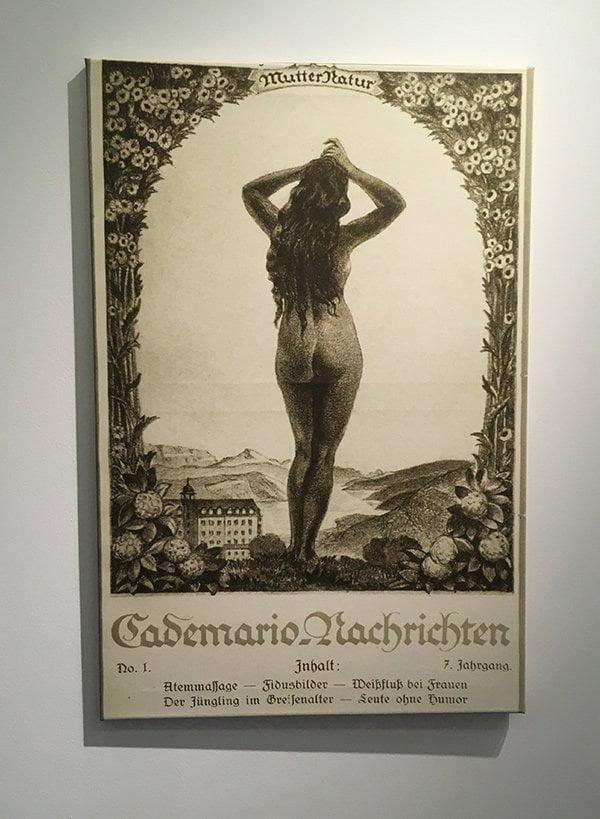 Historisches Bild aus dem Kurhaus Cademario (Credit: Hey Pretty)