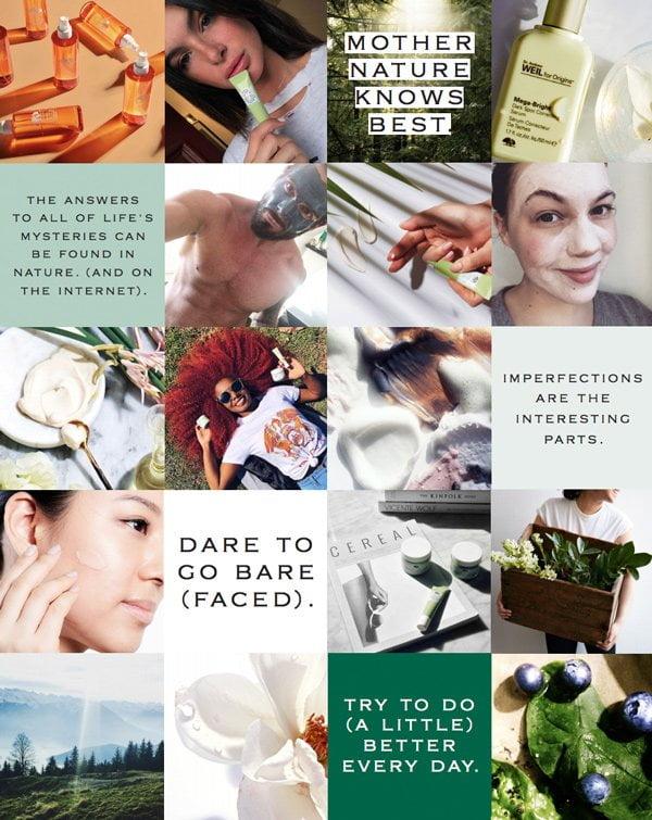 Endlich zurück in der Schweiz! Origins Collage 2 (PR Image), Review on Hey Pretty Beauty Blog