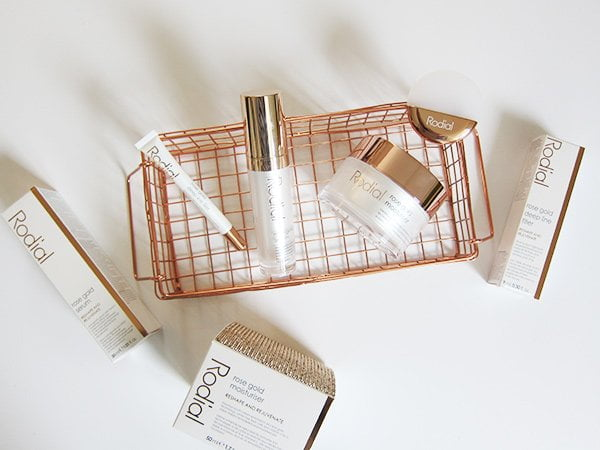 Rodial Rose Gold Anti-Gravity Skincare (Image and Review by Hey Pretty)