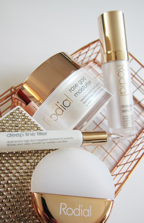 Rodial Rose Gold Straffende Anti-Aging-Gesichtspflege: Review auf Hey Pretty Beauty Blog