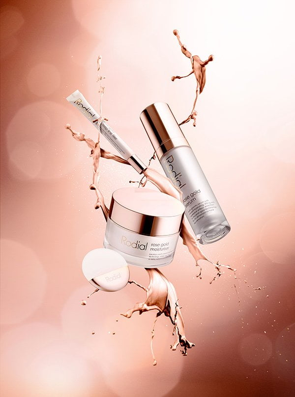 Rodial Rose Gold Facecare Range (PR Image), Review on Hey Pretty Beauty Blog