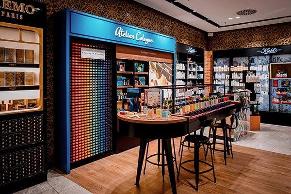 Atelier Cologne Counter bei Jelmoli Zürich (Duft-Review und Brand Love auf Hey Pretty), PR Image