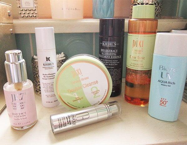 Show Me Your Badezimmerschrank: Steffi Hidber von Hey Pretty, Blick auf Pflegeprodukte
