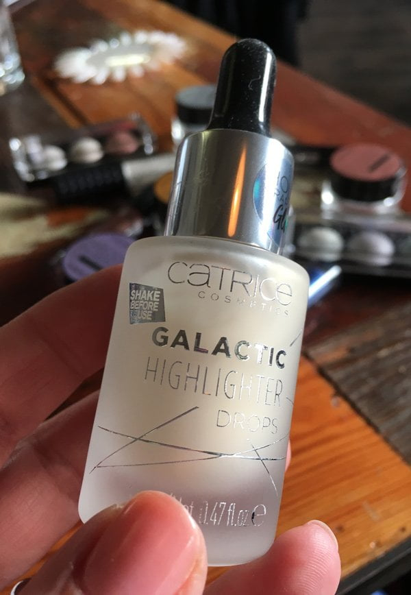 Catrice Spring 2018: Galactic Highlighter Drops (Image by Hey Pretty), Preview auf die Frühlingskollektion