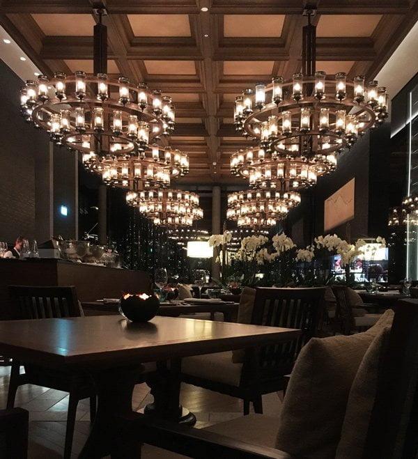 The Restaurant im Chedi Andermatt (Image und Review von Hey Pretty)