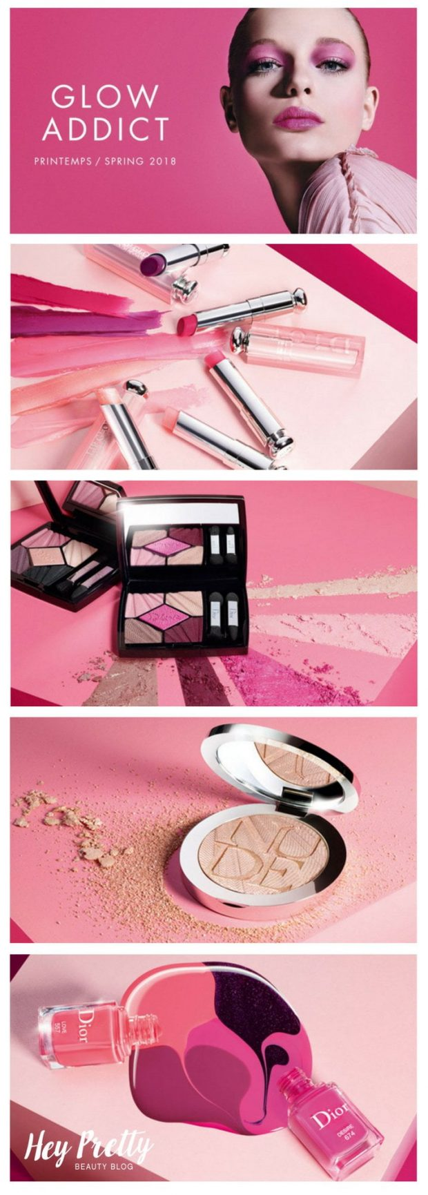 Get Your Glow On with Dior's Spring Look 2018: Glow Addict (Review on Hey Pretty)