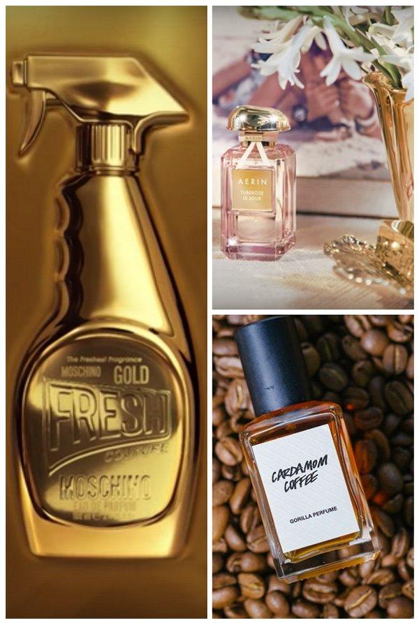 Aerin Tuberose Le Soir, Gorilla Perfume Cardamom Coffee und Moschino Fresh Couture Gold: Duft-Review auf Hey Pretty Beauty Blog