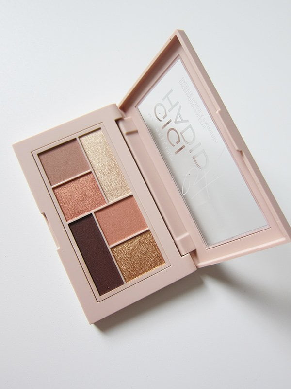 Gigi Hadid X Maybelline Eyeshadow Palette in Warm (Review auf Hey Pretty)