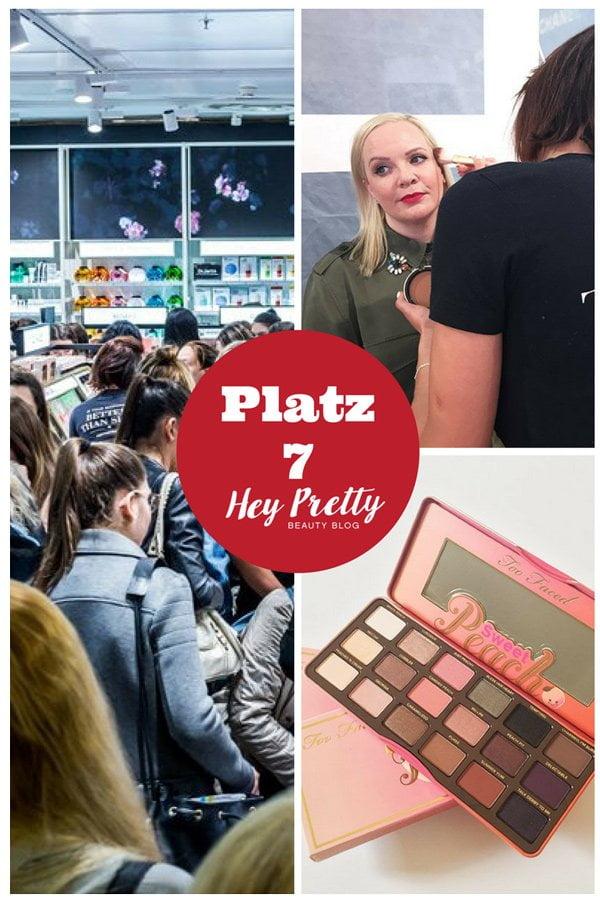 Sephora Opening in Zürich: Platz 7 der meistgelesenen Blogbeiträge 2017 auf Hey Pretty Beauty Blog