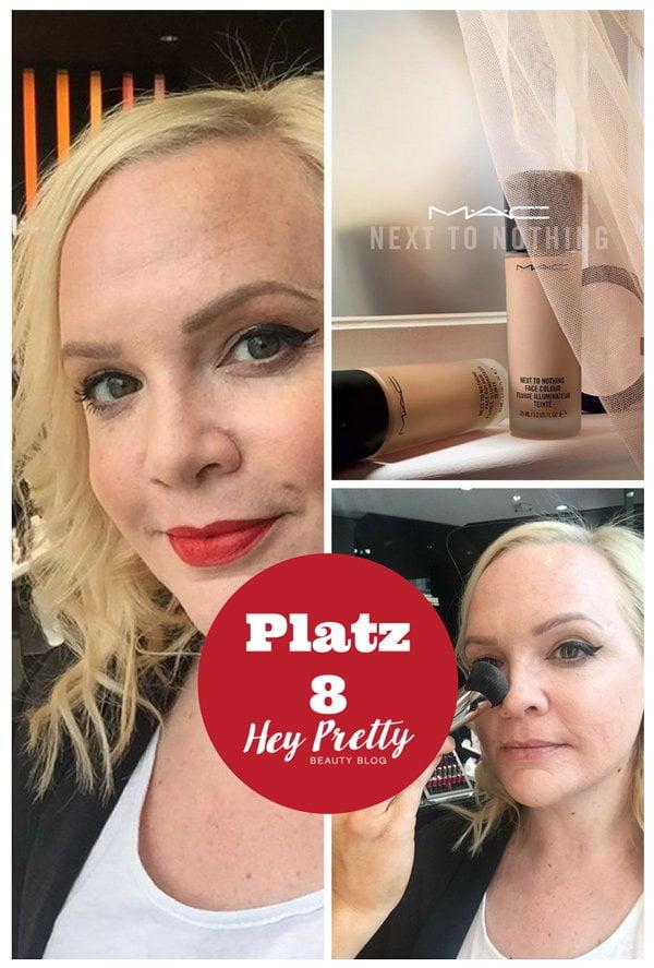 MAC Next To Nothing Face Color Review: Platz 8 der meistgelesenen Blogbeiträge 2017 auf Hey Pretty Beauty Blog