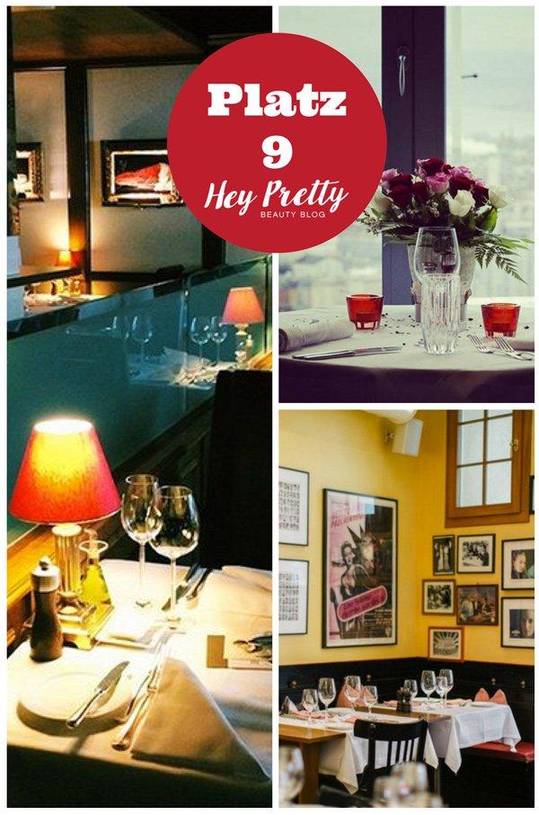 Die romantischsten Restaurants in Zürich: Platz 9 der meistgelesenen Blogbeiträge 2017 auf Hey Pretty Beauty Blog