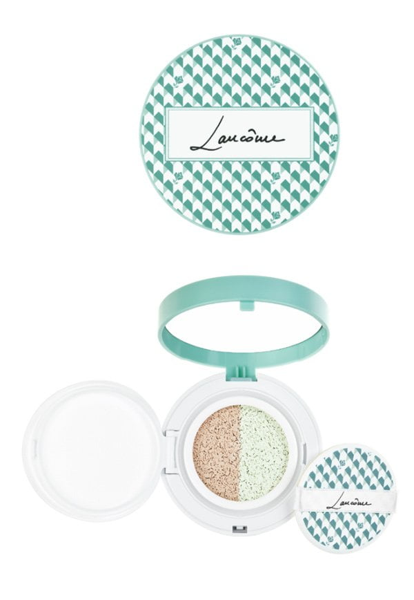 Lancome Duo Cushion Pistachio (Spring Look 2018: French Temptation), Color Correcting Mousse