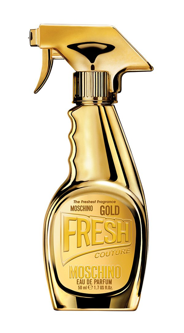 Moschino Fresh Couture Gold Eau de Parfum (Review on Hey Pretty Beauty Blog)
