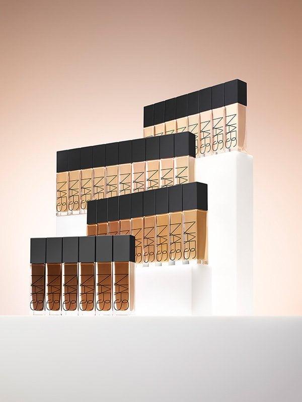 NARS Natural Radiant Longwear Foundation Range (PR Image)