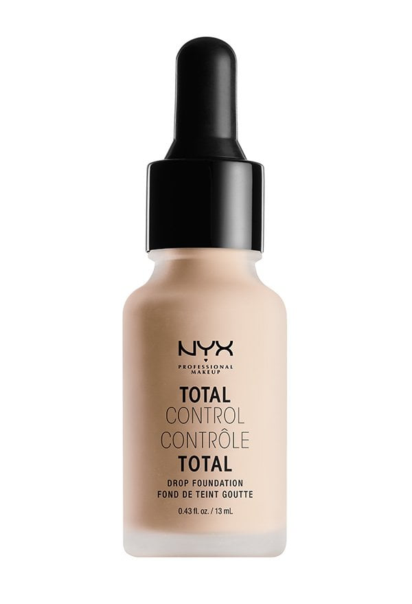 NYX Professional Cosmetics Total Control Drop Foundation (PR Image), Review auf Hey Pretty