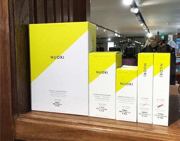 Nuori Skincare, erhältlich in der Schweiz in der Schminkbar (Image by Hey Pretty)