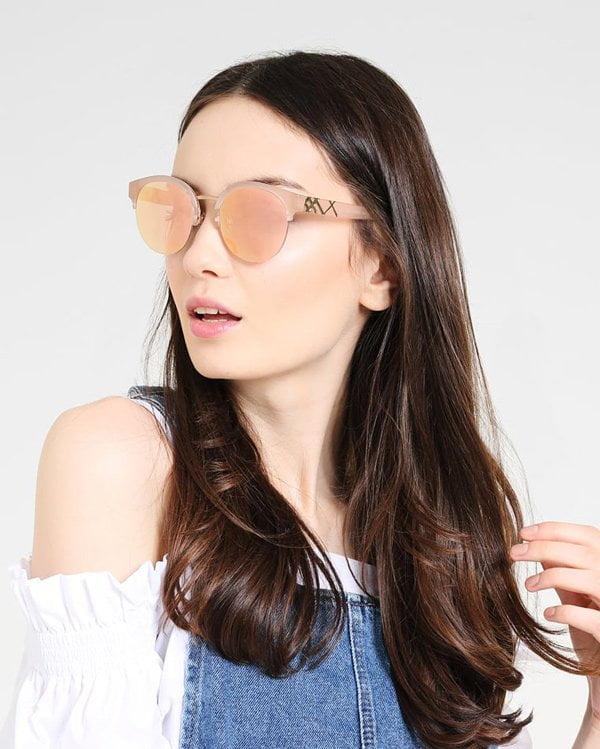 Sonnenbrillen 2018: Burberry Brille Mattpink mit Gold von Zalando (Hey Pretty Fashion Flash)