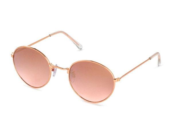 Sonnen-Accessoires auf Hey Pretty: H&M Sonnenbrille in Rosegold