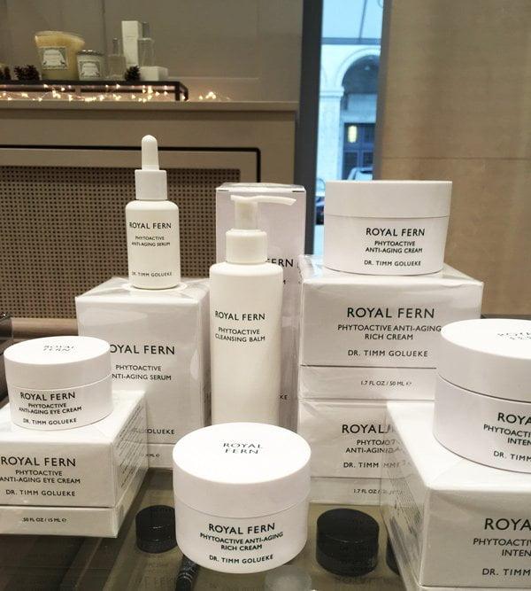 Royal Fern Skincare im Spitzenhaus Zürich (Beauty Shopping Tipp auf Hey Pretty)