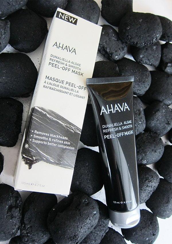 Ahava Dunaliella Algae Refresh & Smooth Peel-Off Mask: Review und Gewinnspiel auf Hey Pretty Beauty Blog