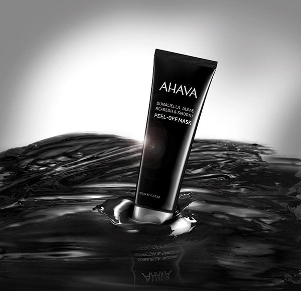 Ahava Dunaliella Algae Refresh & Smooth Peel-Off Mask (PR Image), Review auf Hey Pretty