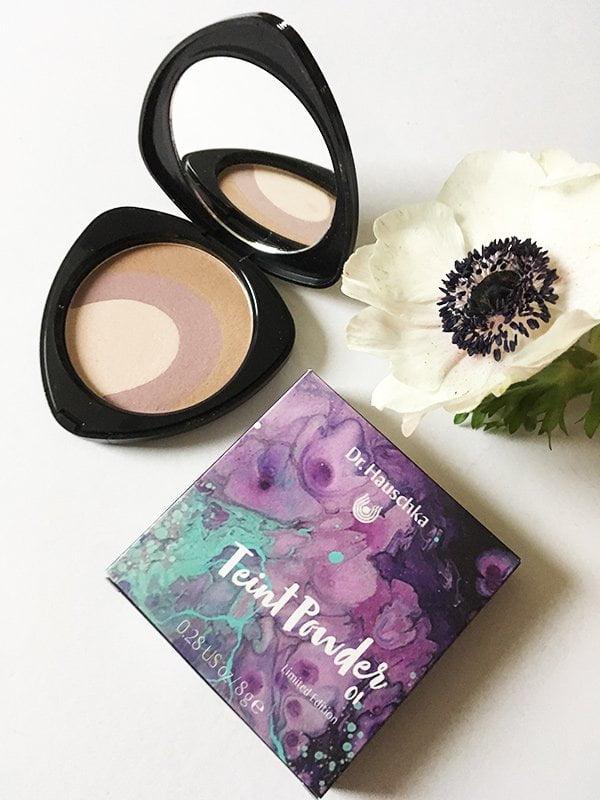 Teint Powder, Dr. Hauschka Spring Look 2018: Purple Light – Review und Bilder by Hey Pretty