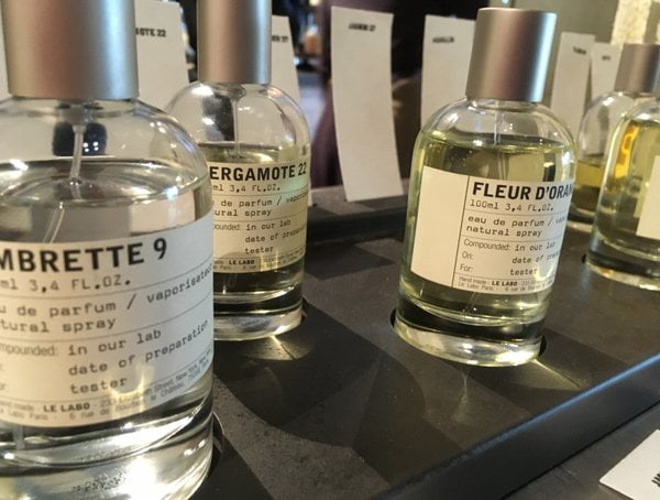 Discovering the Le Labo Fragrances, new in Switzerland at Globus Bellevue in Zurich (Image by Hey Pretty)