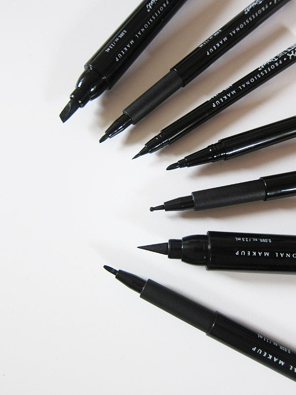 NYX Professional Makeup That's The Point Eyeliners: Erfahrungsbericht auf Hey Pretty (mit Swatches)