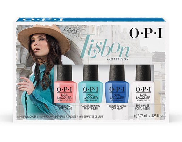 Lisbon by OPI Mini Set (Limited Edition 2018): Review auf Hey Pretty Beauty Blog