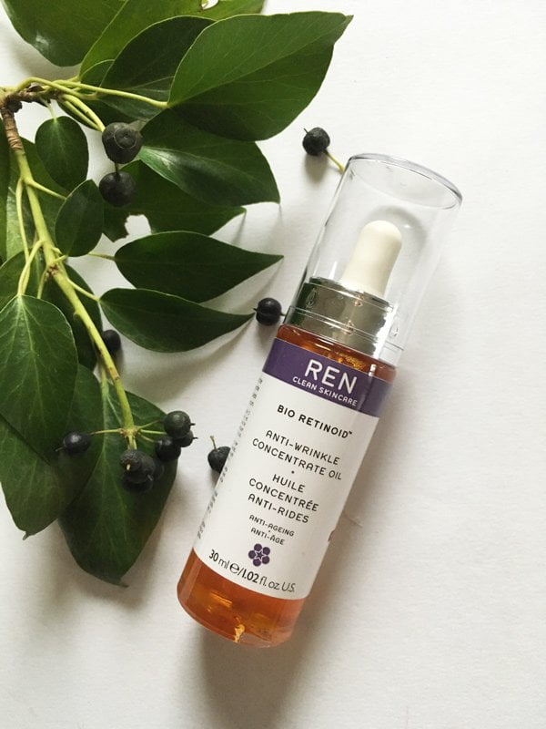 REN Bio Retinoid Anti-Wrinkle Concentrate Oil (Review and Image by Hey Pretty Beauty Blog)
