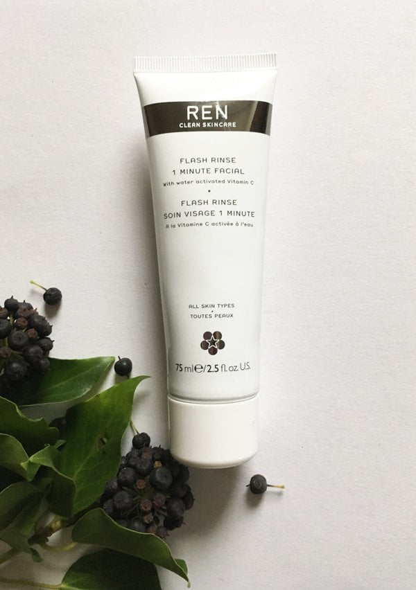REN Flash Rinse 1 Minute Facial (Review auf Hey Pretty)