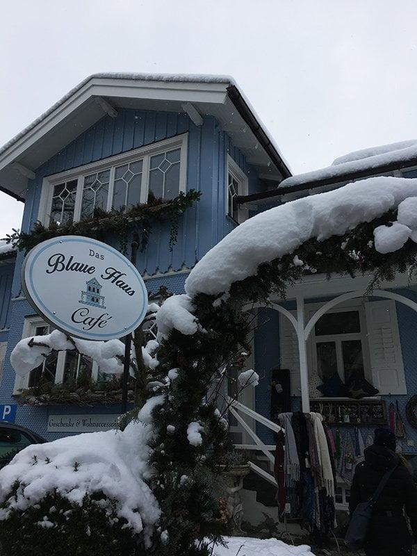 Das Blaue Haus in Oberstaufen (Café und Shop): Review auf Hey Pretty Beauty Blog