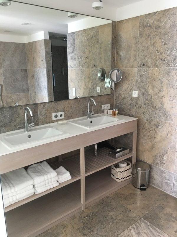 Junior Suite, Badezimmer im Hotel Allgäu-Sonne Oberstaufen (Deutschland): Spa Review auf Hey Pretty