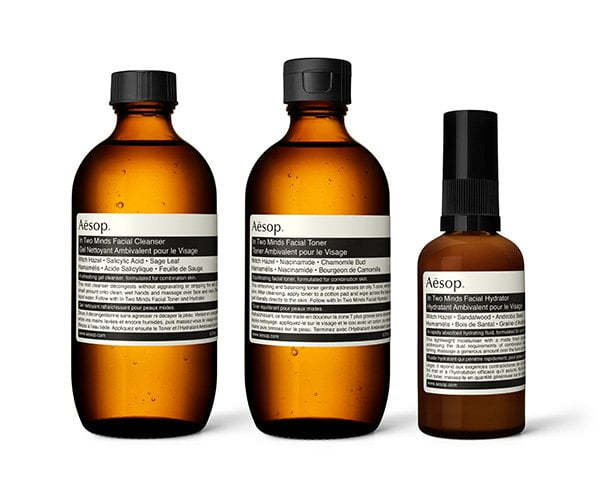 Aesop In Two Minds Facecare for combination skin (PR Image), Review on Hey Pretty Beauty Blog