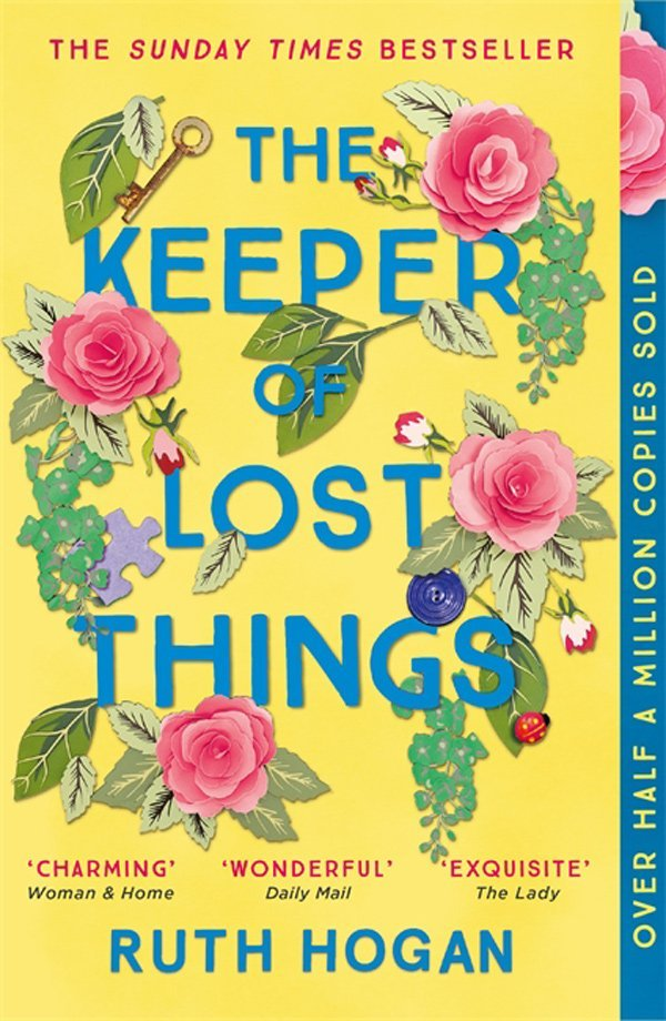 Buchcover Ruth Hogan: The Keeper of Lost Things (Mr. Peardews Sammlung der verlorenen Dinge): Buchtipps auf Hey Pretty