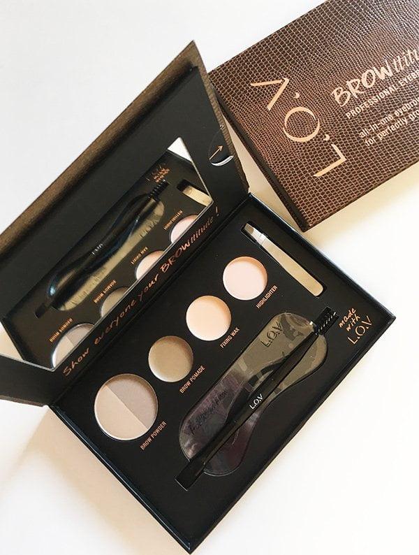 L.O.V. Cosmetics Browttitude Palette in Blonde (Erfahrungsbericht auf Hey Pretty)