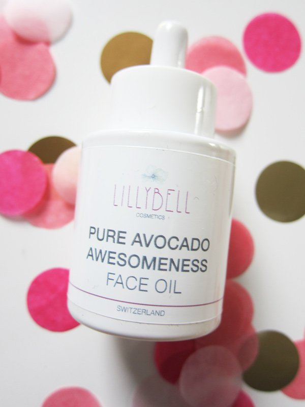 Lillybell Pure Avocado Awesomeness Face Oil (Hey Pretty Beauty Blog)