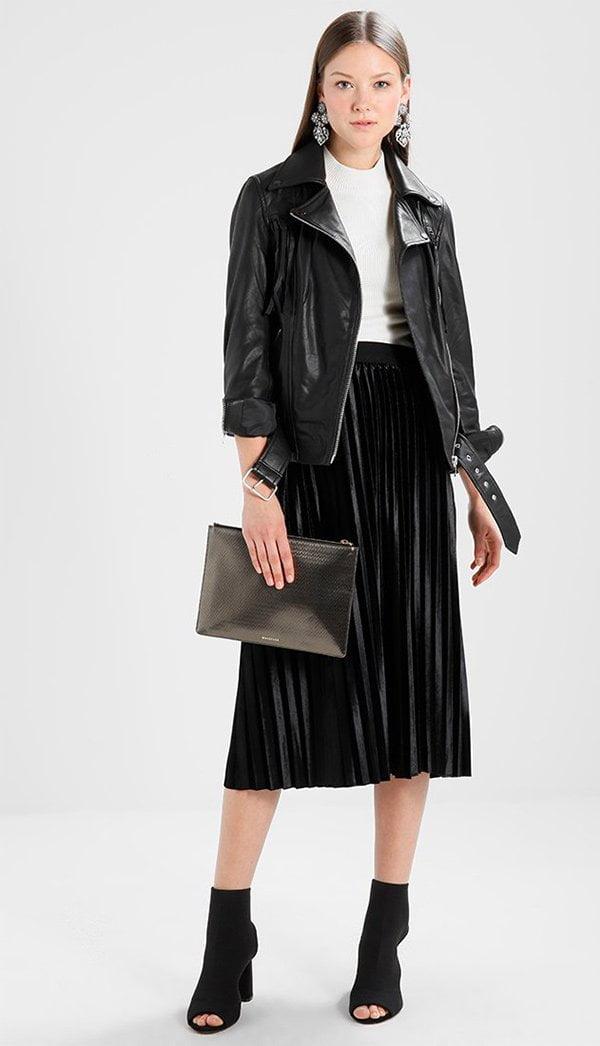 Zalando YAS Lederjacke – 10 Mode-Basics, die jede Frau besitzen muss