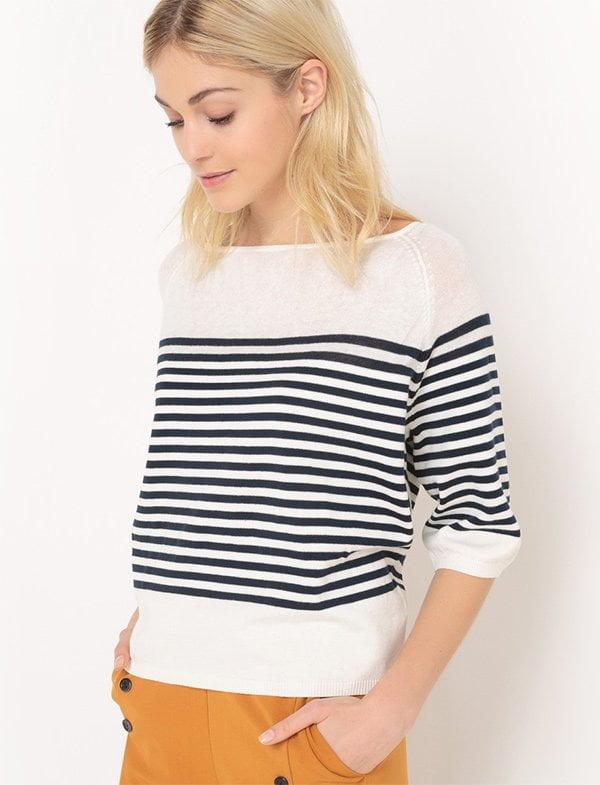 Ringel-Pullover von La Redoute: 10 Mode-Klassiker, die jede Frau haben sollte (Hey Pretty Beauty Blog)
