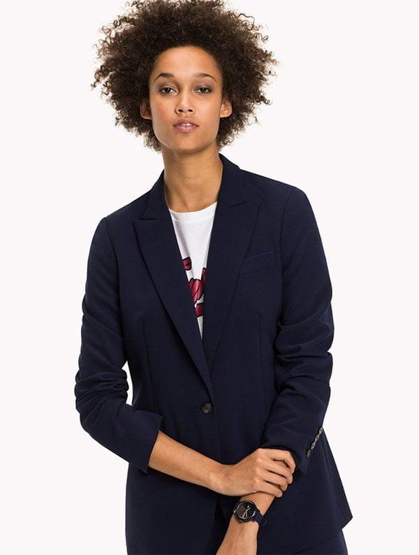 Tommy Hilfiger Slim Fit Blazer (Mode-Basics, die jede Frau in ihrer Garderobe haben muss), Fashion Flash auf Hey Pretty
