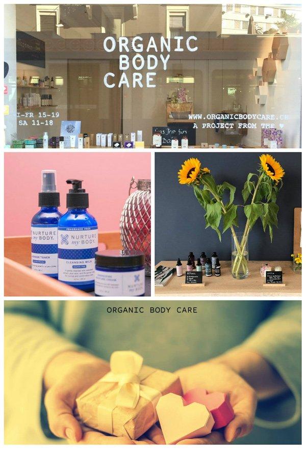 Naturkosmetik Store und Spa in Zürich: Organic Body Care (Review und Bild von Hey Pretty)